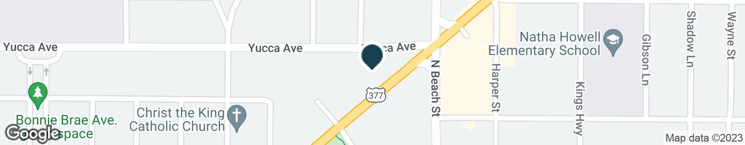 Google Map of3809 E BELKNAP ST