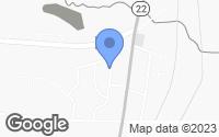 Map of Maplesville, AL
