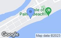 Map of Isle of Palms, SC