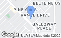 Map of Mesquite, TX