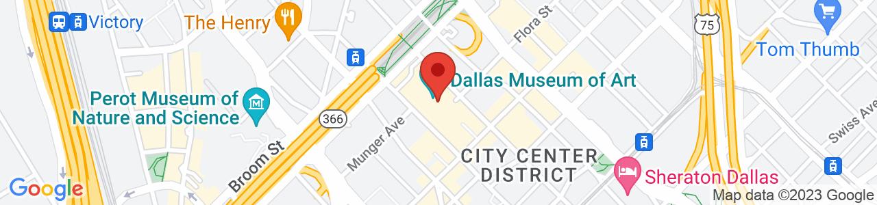 Dallas Museum Of Art, North Harwood Street, Dallas, TX, USA
