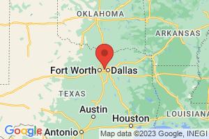 Map of Dallas Forth Worth Area