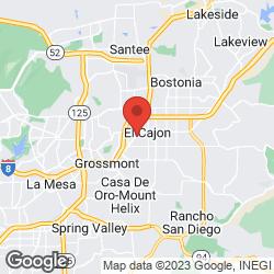 El Cajon Auto Trim Shop on the map