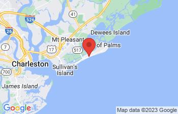Map of Isle of Palms