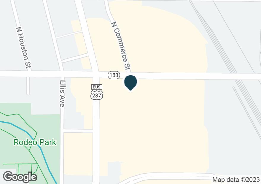Google Map of108 NE 28TH ST