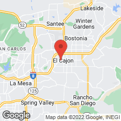 El Cajon Lodge on the map