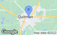 Map of Quitman, TX