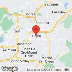 El Cajon Community Development on the map