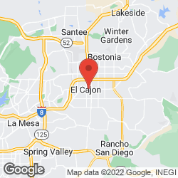 El Cajon Business Licenses on the map