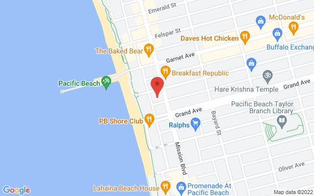 static image of 4444  Mission Blvd, Suite H, San Diego, California