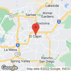 El Cajon Finance Department on the map