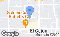 Map of El Cajon, CA