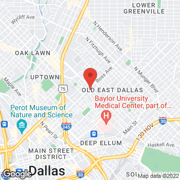 Map of Check `n Go Ross Ave at 4010 Ross Ave, Dallas, TX 75204