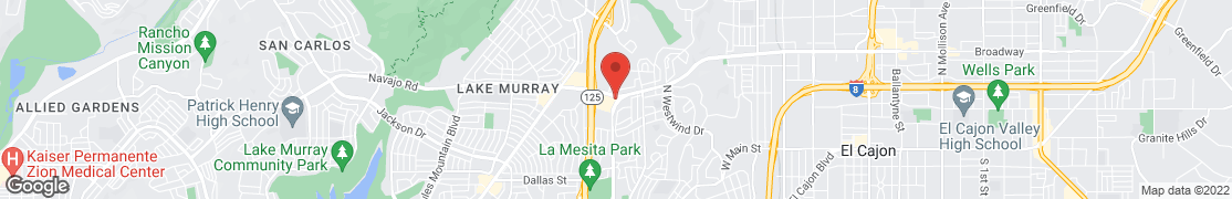 Map of 2691 Navajo Rd in El Cajon