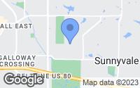 Map of Sunnyvale, TX