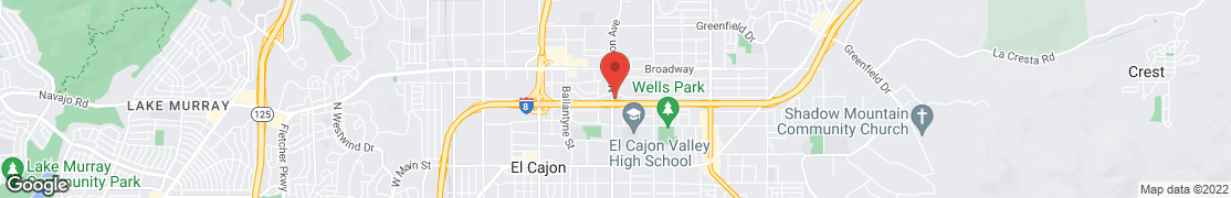Map of 665 N Mollison Ave in El Cajon