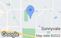 Map of Sunnyvale, TX