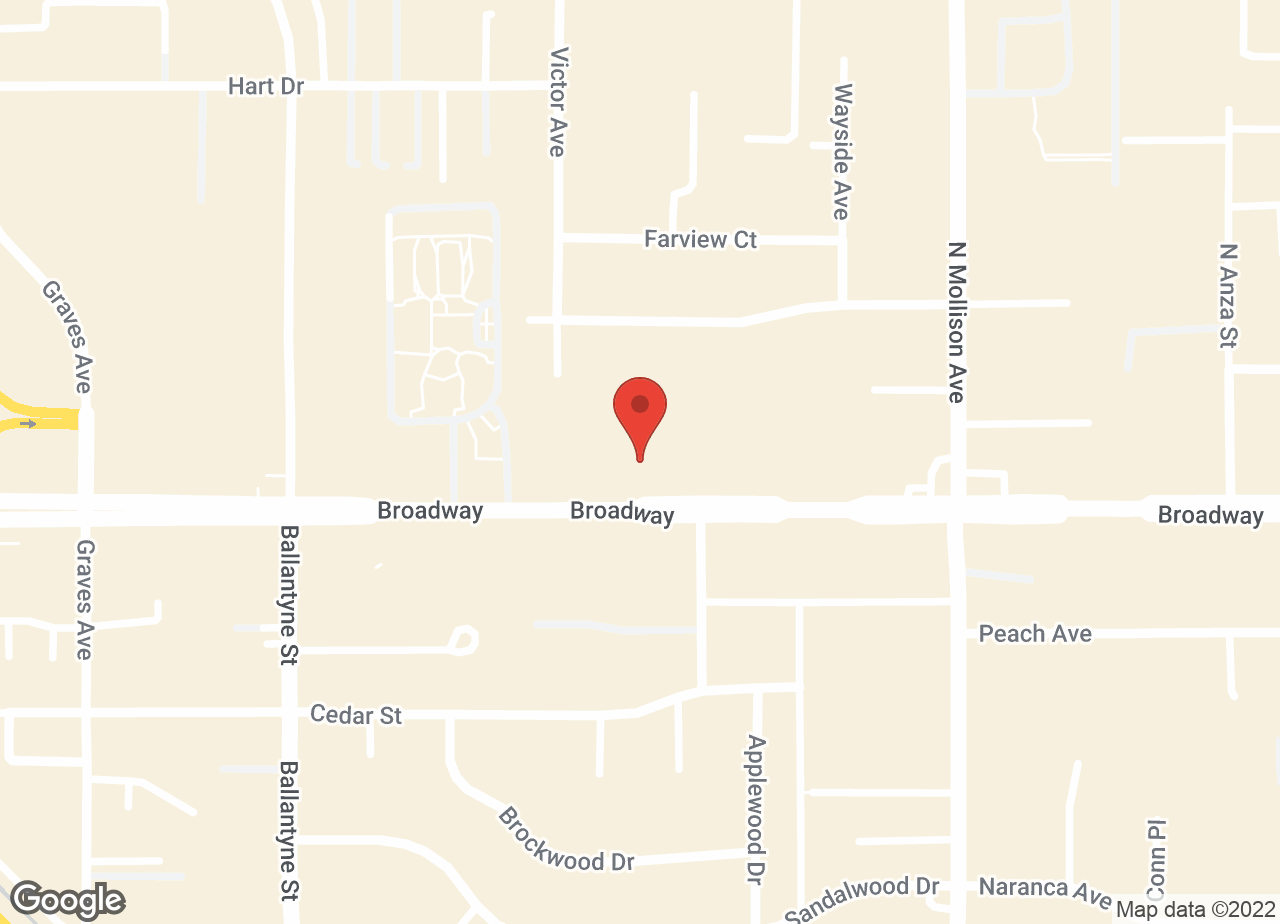 Google Map of VCA Animal Medical Center of El Cajon