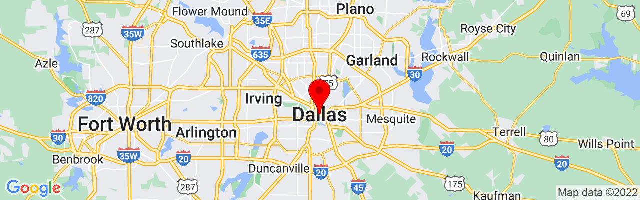 Google Map of The Detailing Syndicate - Dallas TX, 3839 McKinney Ave #155, Dallas, TX 75204, UNITED STATES,32.809213333333,-96.795802777778