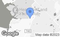 Map of Heath, TX