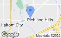 Map of Richland Hills, TX
