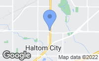 Map of Haltom City, TX