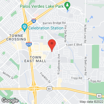 Map of Check `n Go at 1300 Town East Blvd, Mesquite, TX 75150