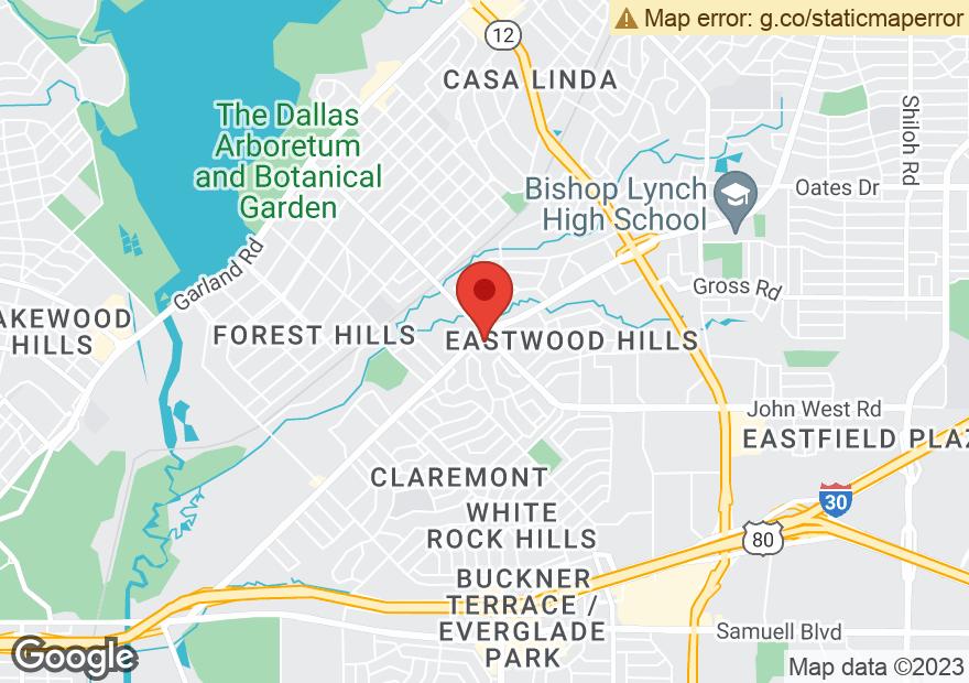 Google Map of 2301 LAKELAND DR