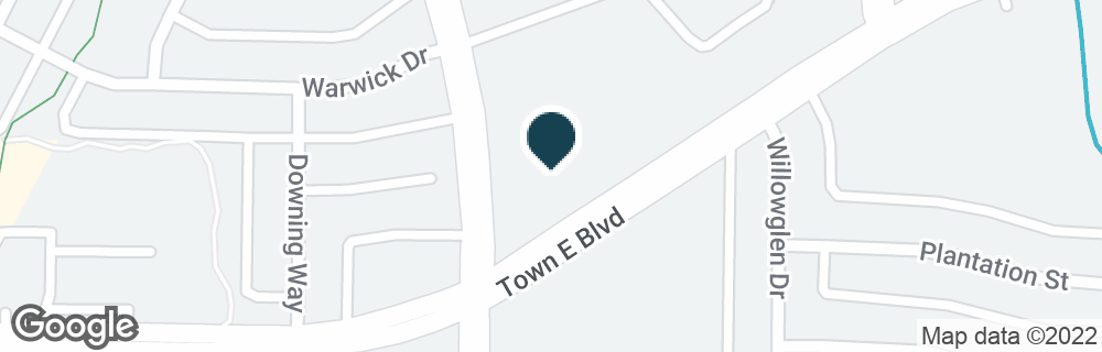 Google Map of1015 N TOWN EAST BLVD
