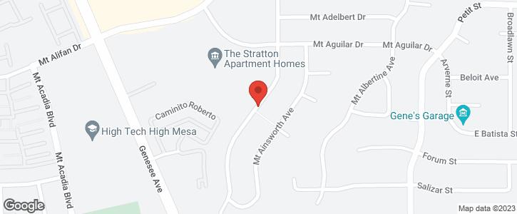 3884 Mount Abraham Ave San Diego CA 92111