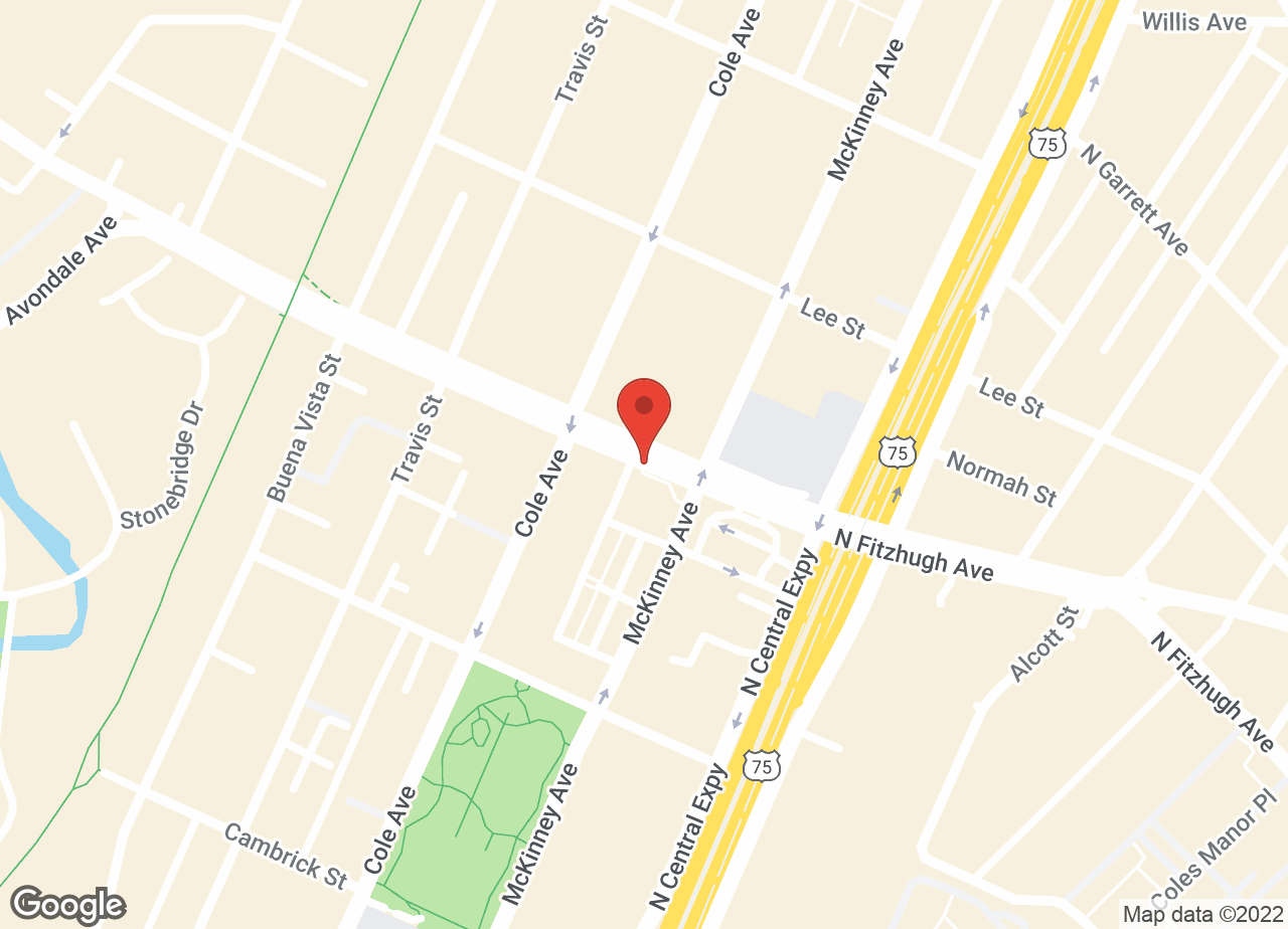 Google Map of VCA Katy Trail Animal Hospital