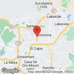 Evans Tire & Service Center El Cajon on the map