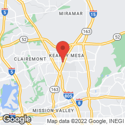 Bikram Yoga-Kearny Mesa on the map