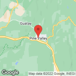 Pine Valley Fire Department on the map