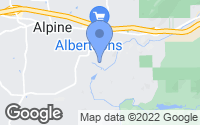 Map of Alpine, CA