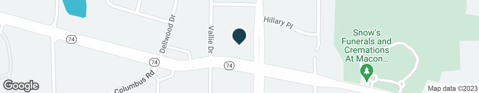 Google Map of4305 MERCER UNIVERSITY DR