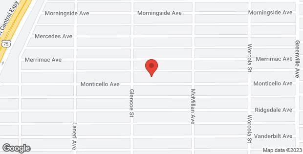 5419 Monticello Avenue Dallas TX 75206
