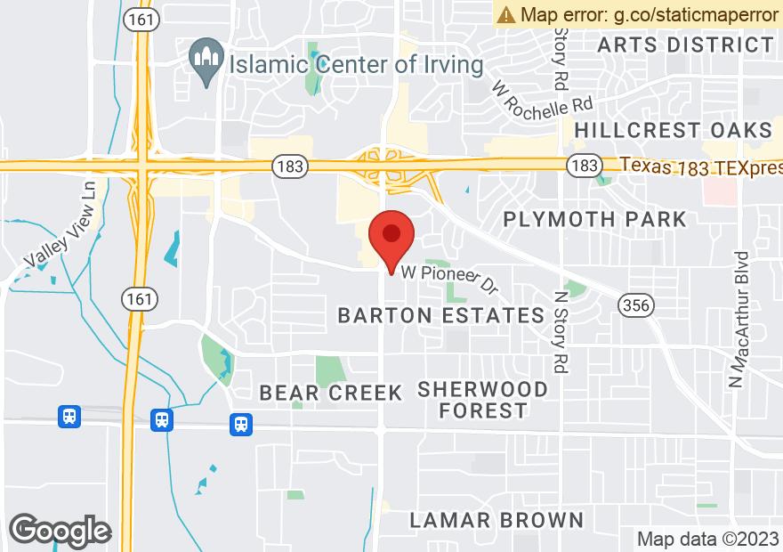Google Map of 1330 N BELT LINE RD