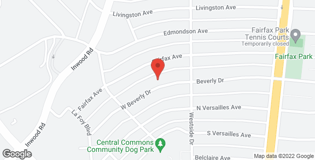 3845 W Beverly Drive Dallas TX 75209