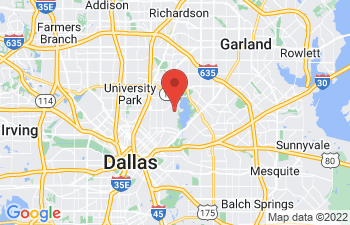 Map of Dallas
