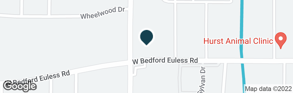 Google Map of780 W BEDFORD EULESS RD