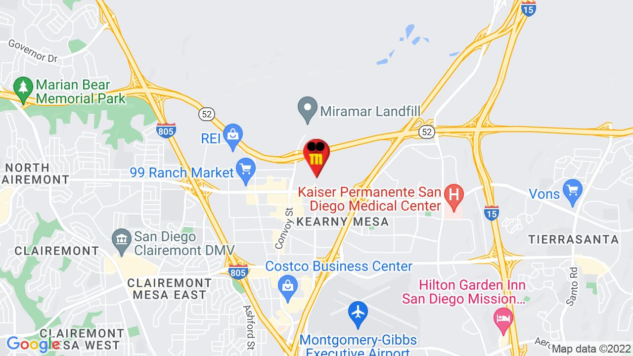 Google Map of San Diego Commercial Pest Control