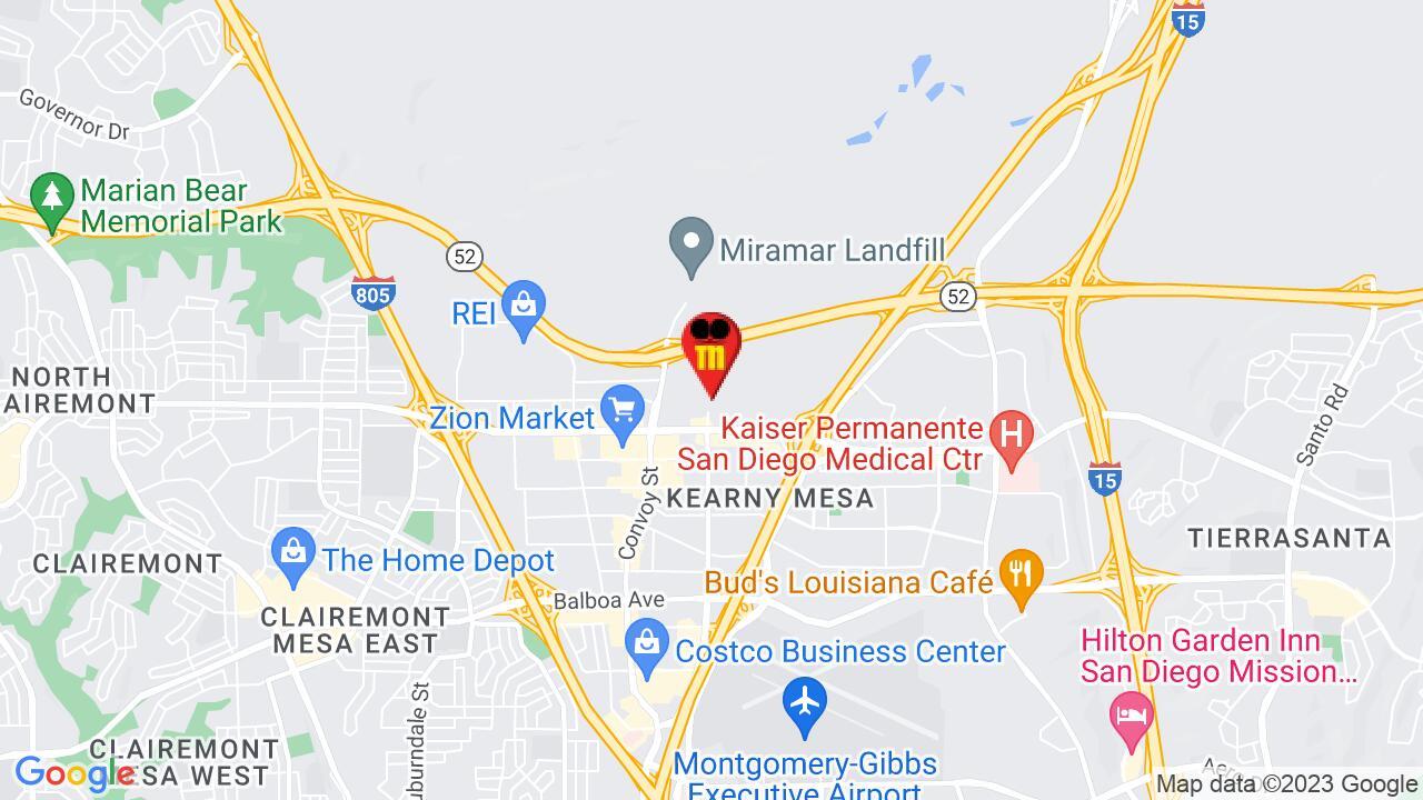 Google Map of San Diego Pest Control