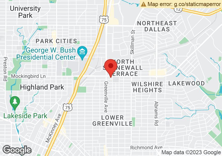 Google Map of 5742 E MOCKINGBIRD LN