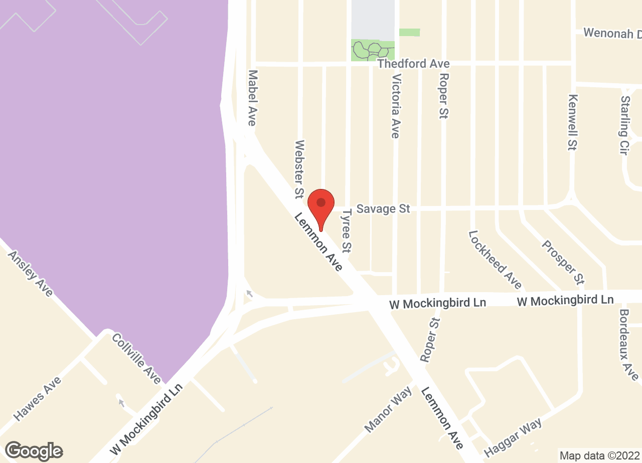Google Map of VCA Love Field Animal Hospital