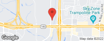 Map of 2300 Valley View Ln in Irving