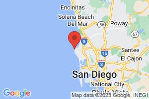 Map of La Jolla