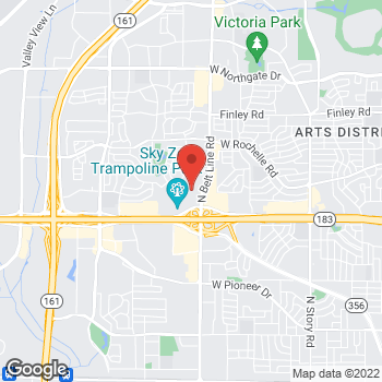 Map of Citi Trends at 2440 Irving Mall, Irving, TX 75062