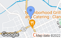 Map of Clanton, AL