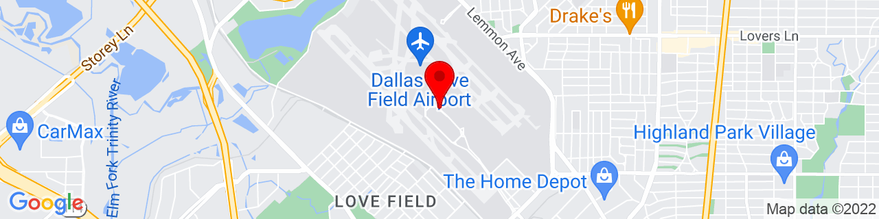 Google Map of 32.8434383, -96.84875929999998